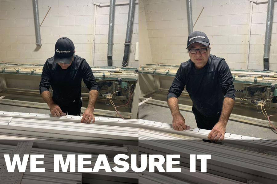 we measure it